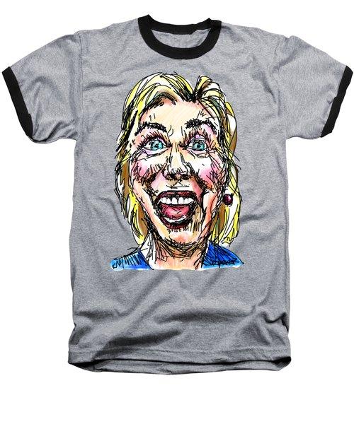 Hillary Baseball T-Shirt