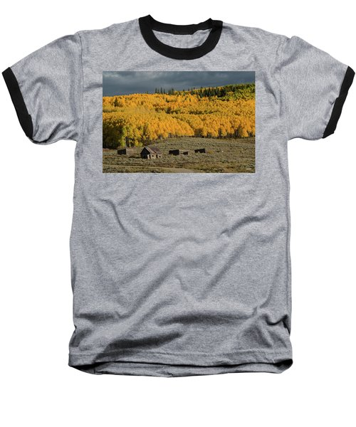 Baseball T-Shirt featuring the photograph Hills Afire by Dana Sohr