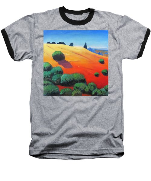 Baseball T-Shirt featuring the painting Hills And Beyond by Gary Coleman