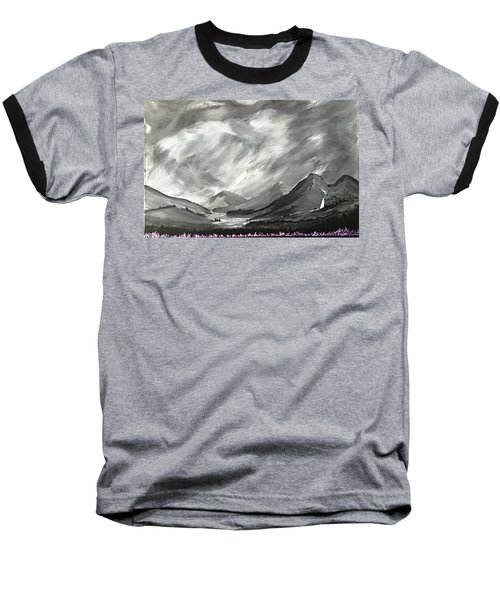 Hills And Heather  Baseball T-Shirt by Scott Wilmot