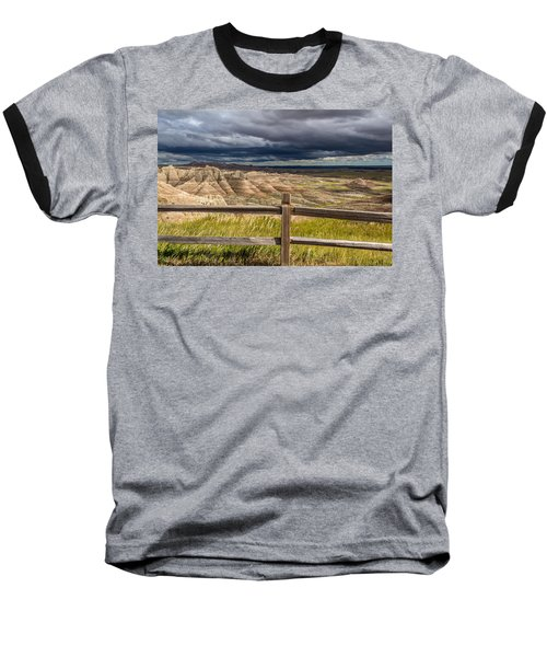 Hills Behind The Fence Baseball T-Shirt