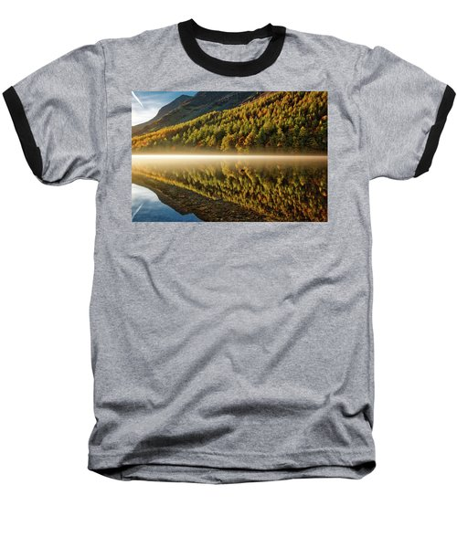 Hills In The Mist Baseball T-Shirt