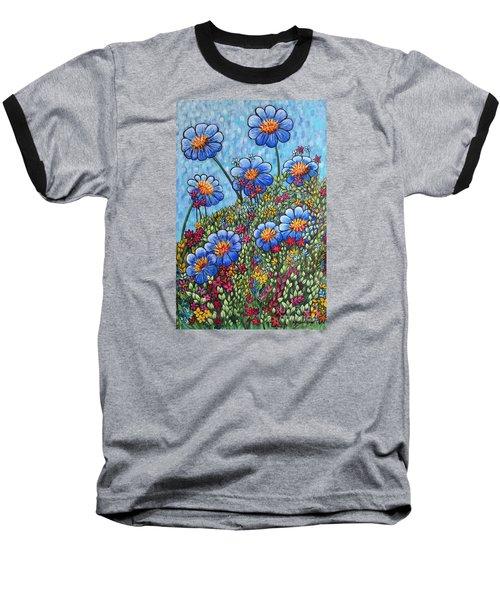 Hillside Blues Baseball T-Shirt