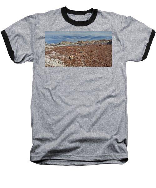 Hillside Hues Baseball T-Shirt by Gary Kaylor