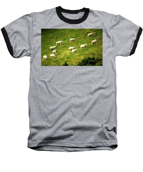 Hillside Pasture Baseball T-Shirt