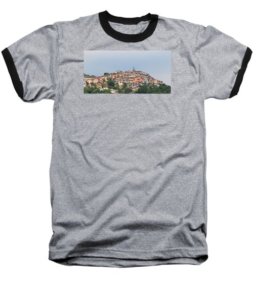Baseball T-Shirt featuring the photograph Hilltop by Richard Patmore