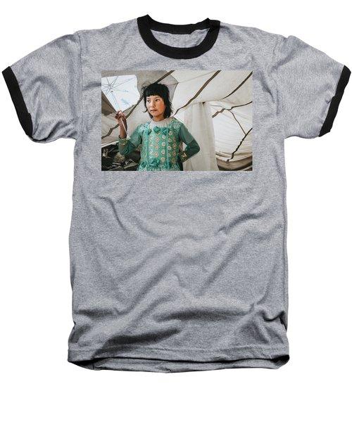 Himalayan Girl Baseball T-Shirt