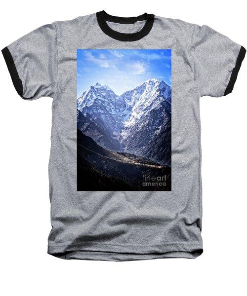 Himalayan Village Baseball T-Shirt