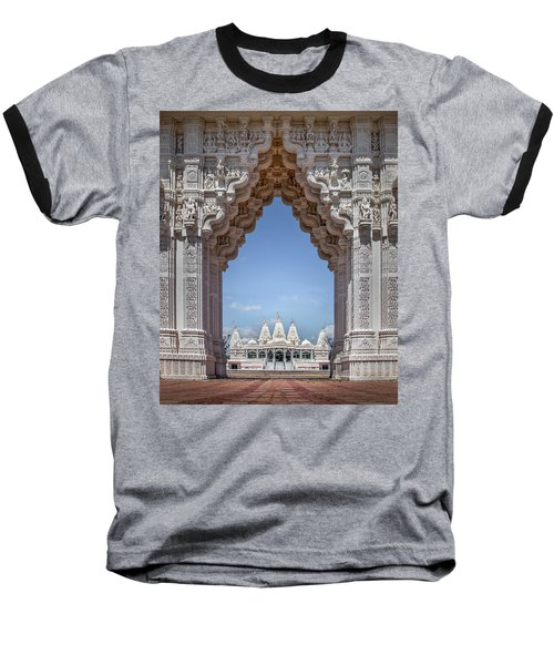 Baseball T-Shirt featuring the photograph Hindu Architecture by James Woody