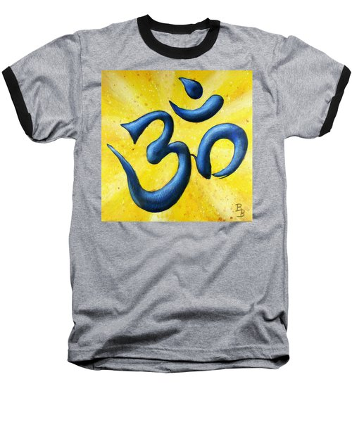 Hindu Om Symbol Art Baseball T-Shirt