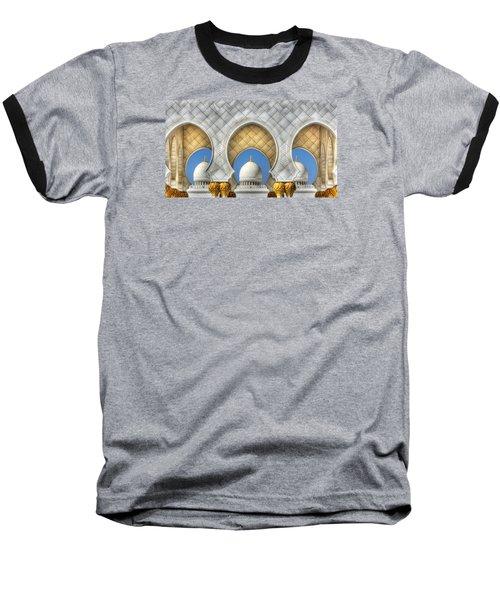 Baseball T-Shirt featuring the photograph Hindu Temple by John Swartz