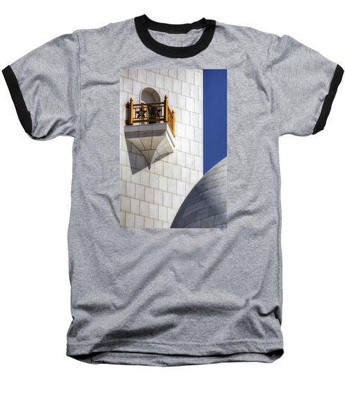 Baseball T-Shirt featuring the photograph Hindu Temple Tower by John Swartz