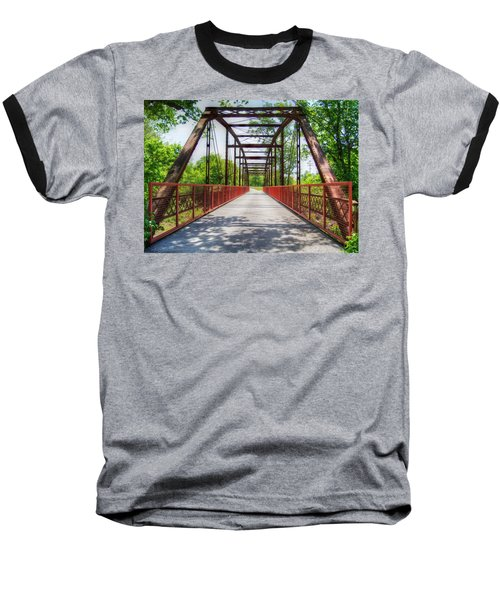 Hinkson Creek Bridge Baseball T-Shirt