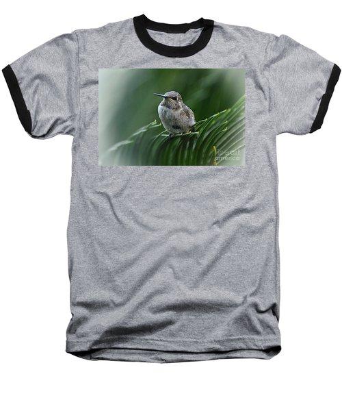 Hint Of Purple Baseball T-Shirt