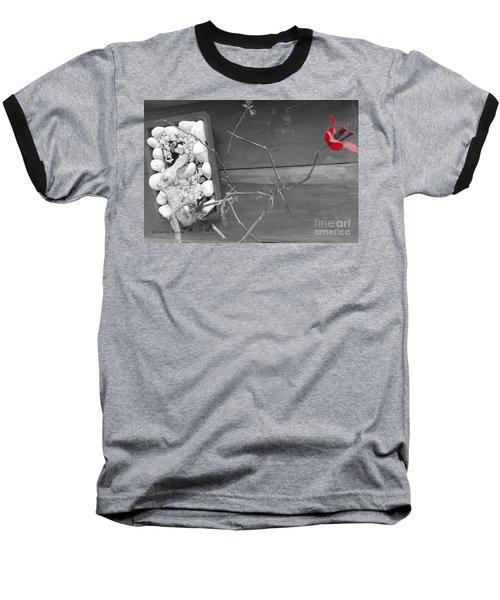 Hints Of Red Baseball T-Shirt
