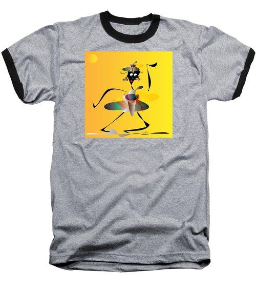 Hip Hop Baseball T-Shirt by Iris Gelbart