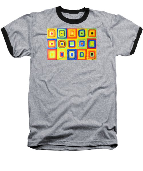 Hip To Be Square Baseball T-Shirt