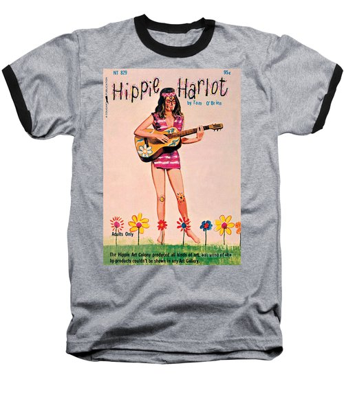 Hippie Harlot Baseball T-Shirt