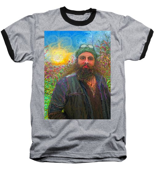Hippie Mike Baseball T-Shirt