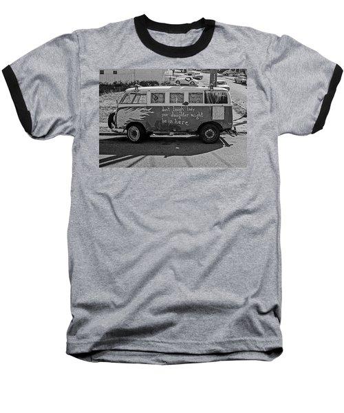 Hippie Van, San Francisco 1970's Baseball T-Shirt