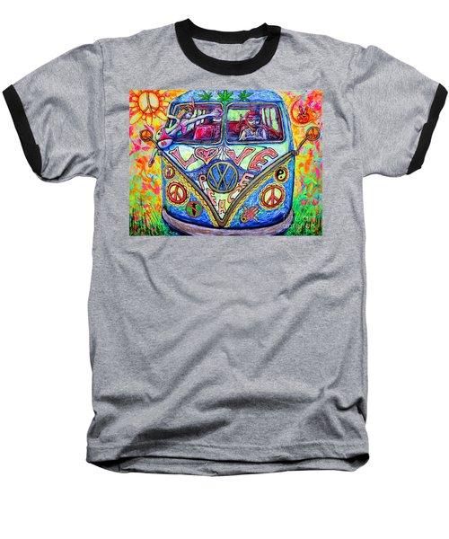Hippie Baseball T-Shirt