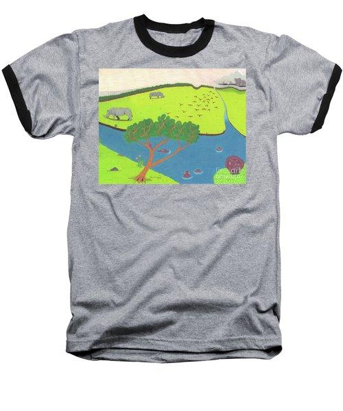 Hippo Awareness Baseball T-Shirt