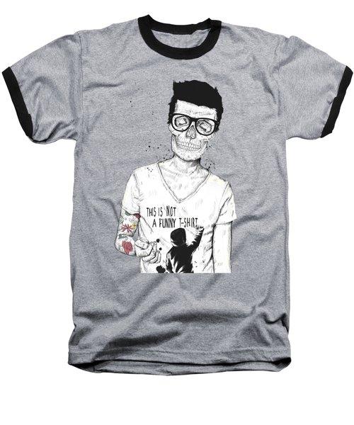 Hipsters Not Dead Baseball T-Shirt