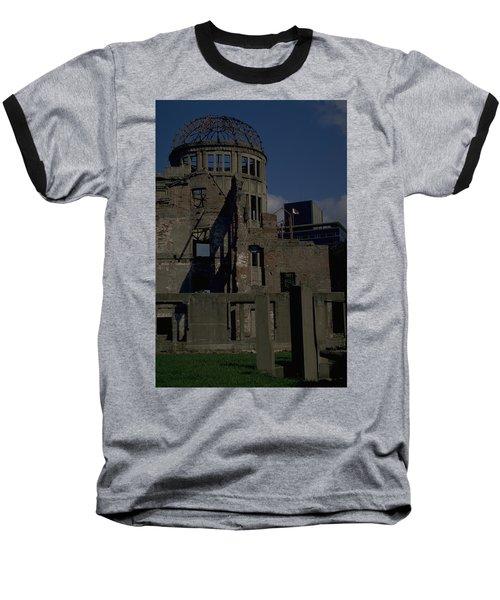 Hiroshima Peace Memorial Baseball T-Shirt