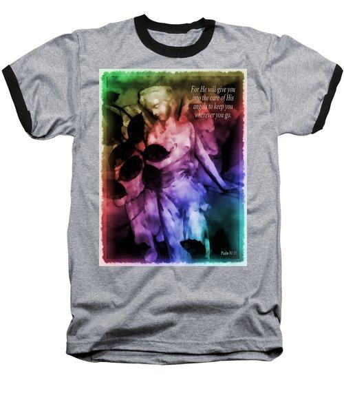 His Angels 2 Baseball T-Shirt