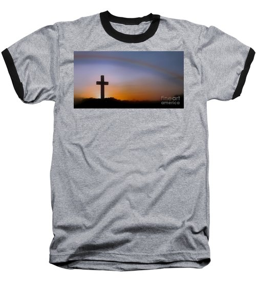 Baseball T-Shirt featuring the photograph His Promise by Benanne Stiens