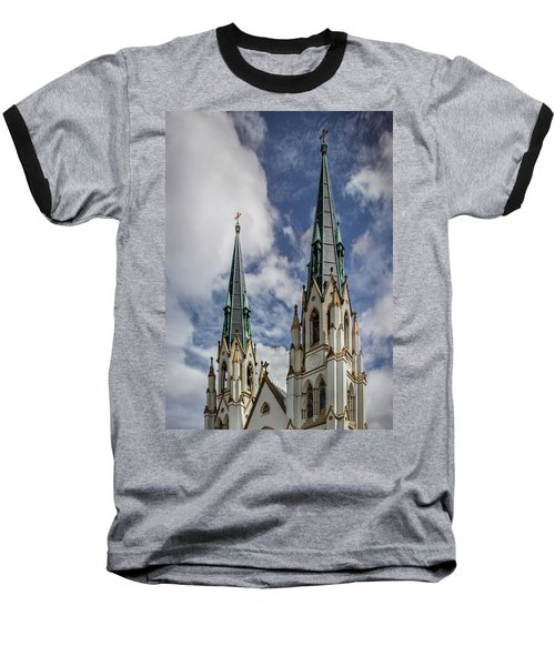 Baseball T-Shirt featuring the photograph Historic Architecture by James Woody
