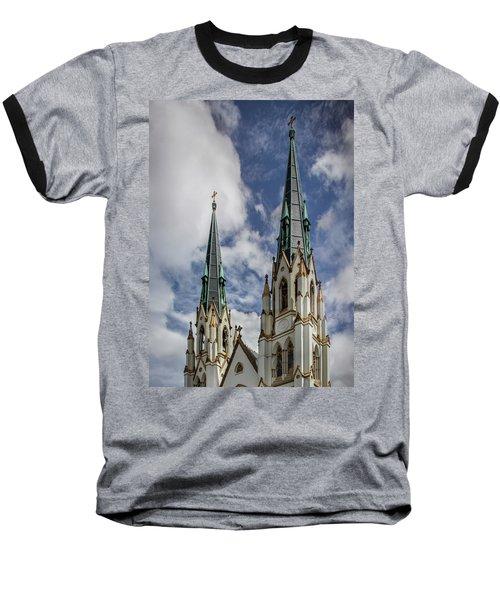 Historic Architecture Baseball T-Shirt