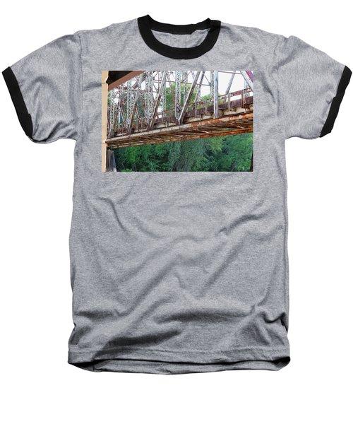 Historic Brazoria Bridge Baseball T-Shirt