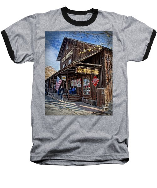Historic Butte Creek Mill Baseball T-Shirt by Mick Anderson
