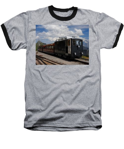 Historic Cogwheel Train  Baseball T-Shirt