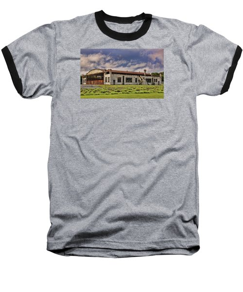 Baseball T-Shirt featuring the photograph Historic Curtiss Wright Hanger by Steven Richardson