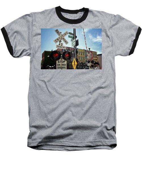 Historic Depot Town Ypsilanti Mi Baseball T-Shirt