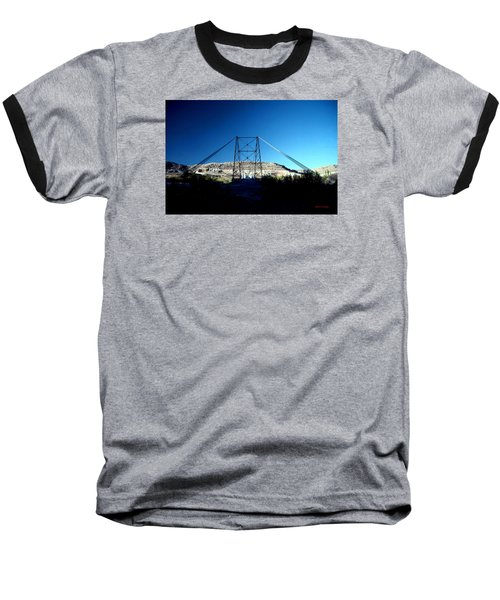 Historic Dewey Bridge Baseball T-Shirt