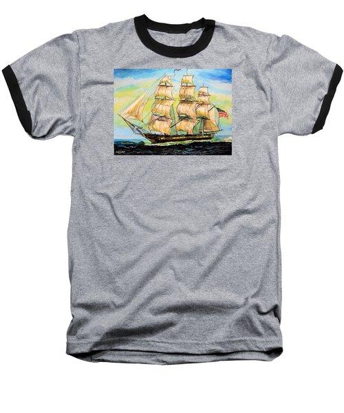Historic Frigate United States Baseball T-Shirt