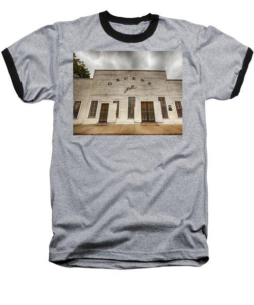 Historic Gruene Hall Baseball T-Shirt