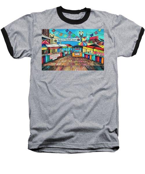 Historic Market Square Baseball T-Shirt