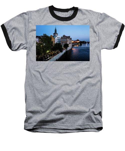 Historic Prague Baseball T-Shirt