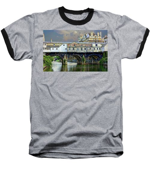Historic Pulteney Bridge Baseball T-Shirt