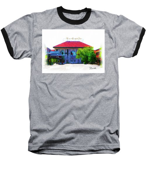 Historic Rio Grande Station Baseball T-Shirt