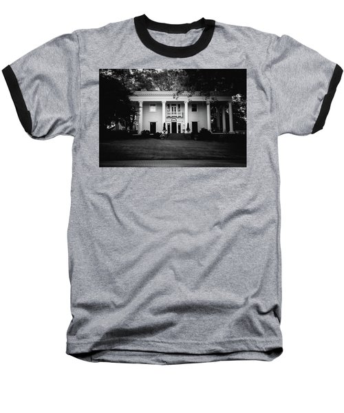 Historic Southern Home Baseball T-Shirt