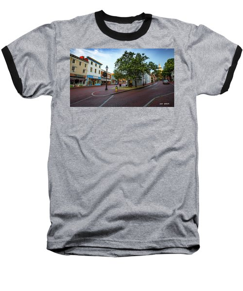 Historic Streets Baseball T-Shirt