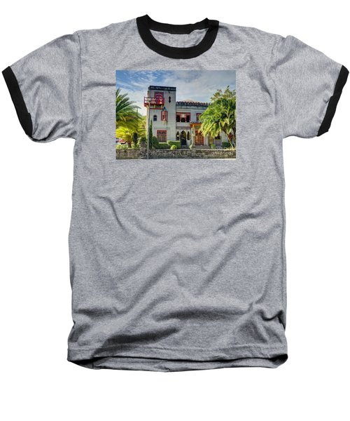 Historic Zorayda Castle Baseball T-Shirt