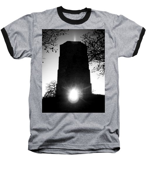 Historical Water Tower At Sunset Baseball T-Shirt