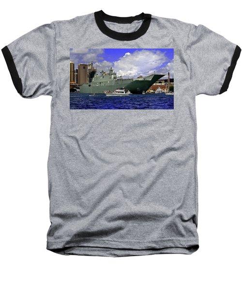 Hmas Adelaide IIi Baseball T-Shirt