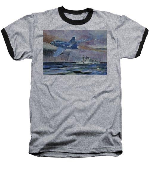 Hms Sheffield Baseball T-Shirt